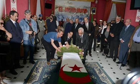 Nourredine Naït Mazi inhumé à El Alia