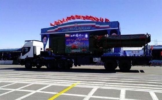 L'Iran montre une partie du système anti-missile S-300 russe