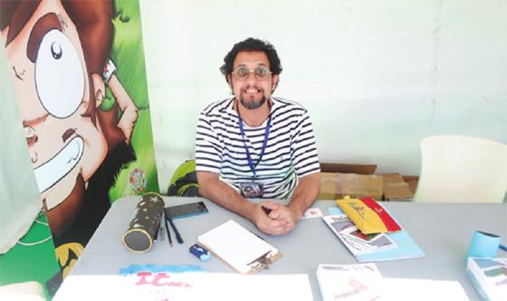 Samir Toudji : «L'autodérision offre la possibilité de se remettre en question»