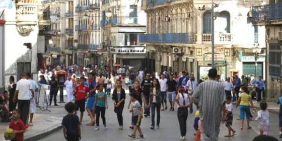 L'Algérie compte 40,4 millions d'habitants