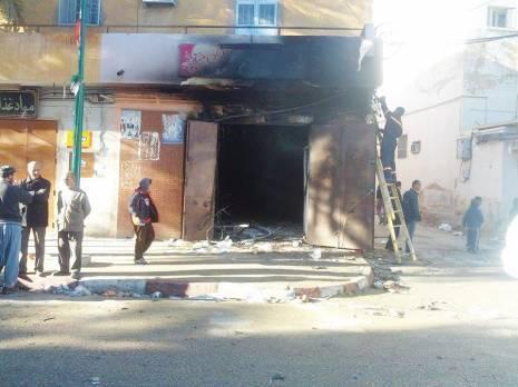 Un débit de boissons alcoolisées incendié à Béjaia