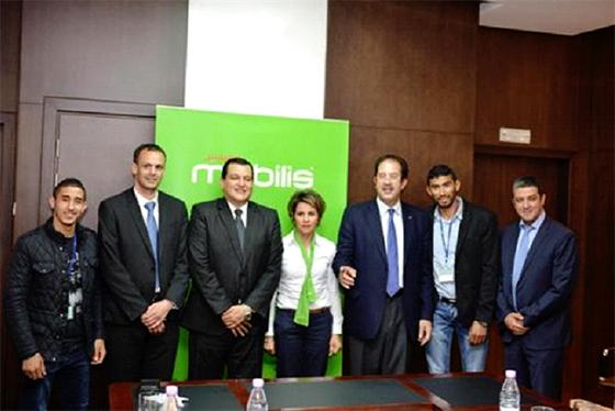 Mobilis signe quatre contrats avec des sportifs algériens