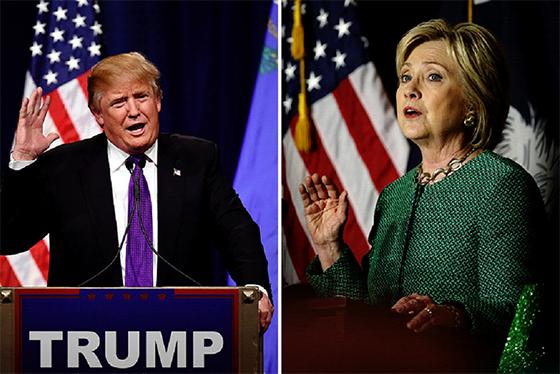 Clinton et Trump creusent l'écart