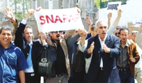 Une marche nationale du Snapap le 1er mai