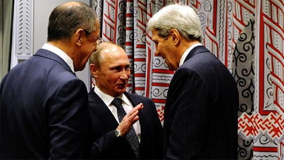 Poutine prône la création  d'un front antiterroriste