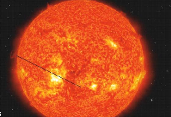 Transit de Mercure devant le Soleil aujourd'hui