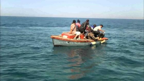Vingt-six harraga interceptés au large d'Annaba