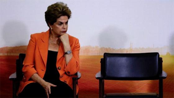 La présidente du Brésil vit  ses dernières heures au pouvoir