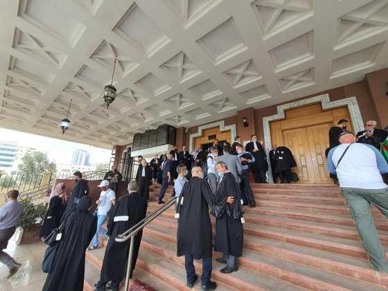 Les avocats d'Alger boycottent l'activité judiciaire