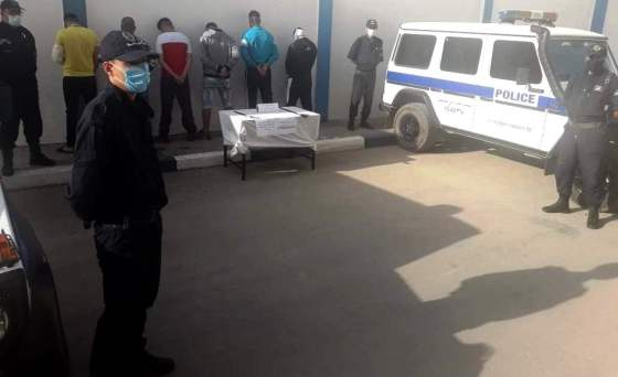 Six membres d'un gang arrêtés à Ali Mendjli