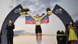 Le Slovène Pogacar remporte le Tour de France de cyclisme