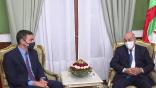 Tebboune reçoit le président du Gouvernement espagnol