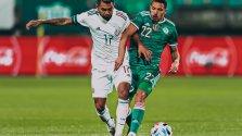 L'Algérie tenue en échec par le Mexique