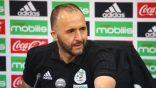 Football: Belmadi justifie le choix des adversaires de l'EN