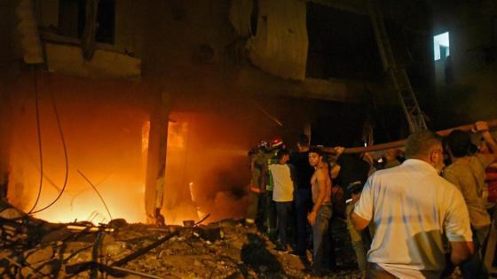 Beyrouth: incendie et explosion d'un entrepôt de carburant, quatre morts