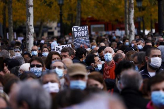 Manifestation au Chili pour le premier anniversaire du soulèvement