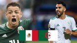 Algérie-Mexique: Les Verts face à un défi de taille