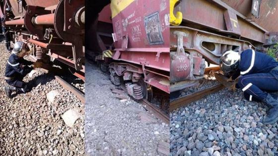 Skikda : déraillement d'un wagon de train chargé de phosphate