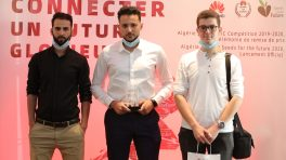 Huawei récompense les lauréats de l'ICT Competition