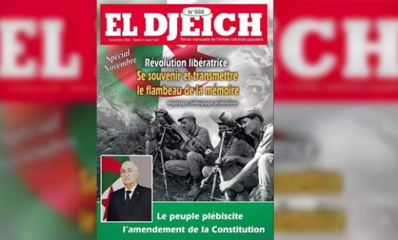 Revue El Djeïch: «l'Algérie plus solide et ouverte»