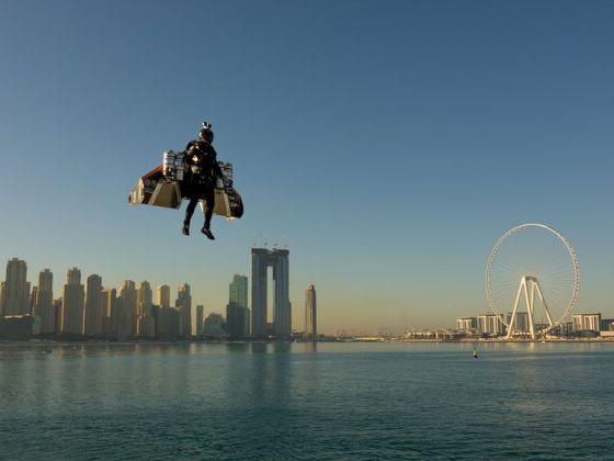 """""""L'homme volant"""" s'est tué dans un accident à Dubaï"""