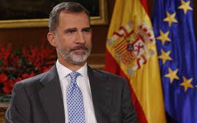 Le roi d'Espagne en quarantaine