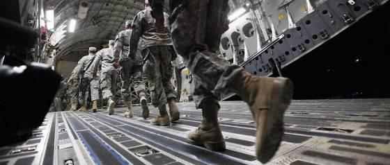 Washington réduit ses effectifs militaires en Irak et en Afghanistan