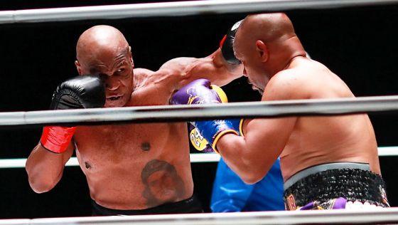 Boxe : le retour gagnant de Mike Tyson