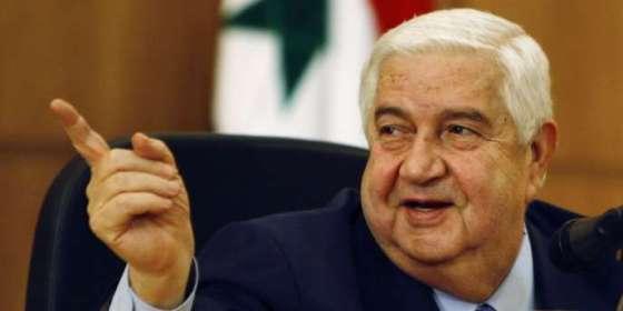 Décès du MAE syrien Walid Mouallem