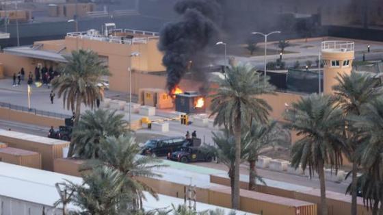 Une attaque à la roquette vise l'ambassade des Etats-Unis à Bagdad
