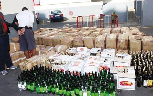 Béjaïa: 4404 bouteilles d'alcool saisies