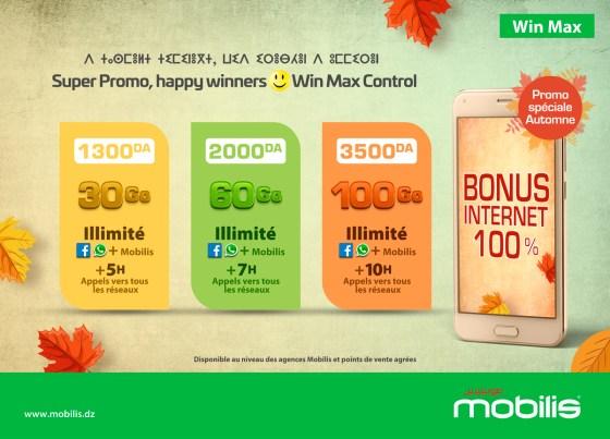 Profitez de la super promo automne de la Win Max Control