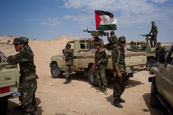 L'armée sahraouie bombarde des cantonnements marocains