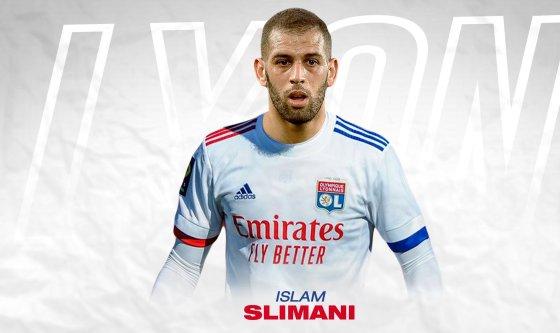 Islam Slimani rejoint l'Olympique Lyonnais