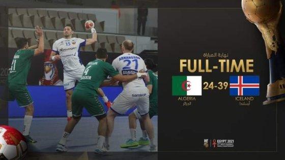 Mondial de handball : L'Algérie s'incline avec courage face à l'Islande (24-39)