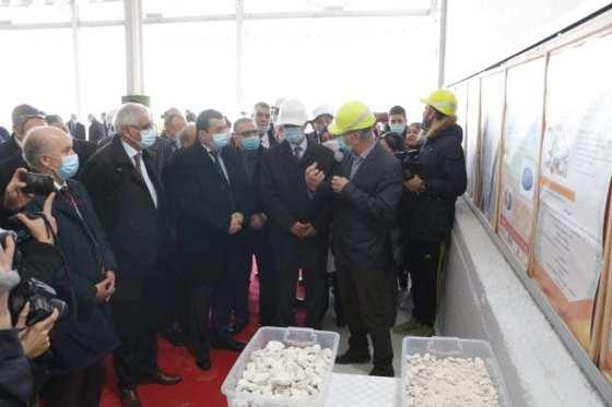 Une usine de carbonate de calcium lancée à Constantine