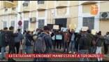 Sit-in des étudiants en droit devant le siège du bâtonnat à Tizi Ouzou