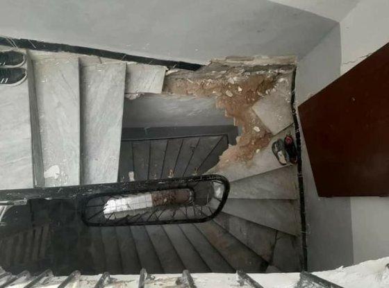 Casbah : 3 blessés dans l'effondrement des escaliers d'une bâtisse