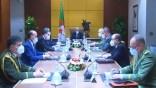 Tebboune préside une réunion du Haut Conseil de Sécurité