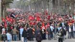 Tunisie: démonstration de force d'Ennahda contre Kaïs Saïed