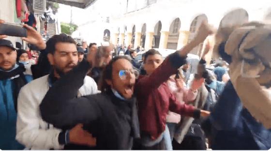 Nouvelle marche des étudiants à Alger