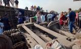 100 blessés dans un nouvel accident de train en Egypte 