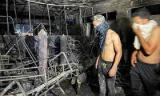 82 morts dans l'incendie d'un hôpital en Irak 