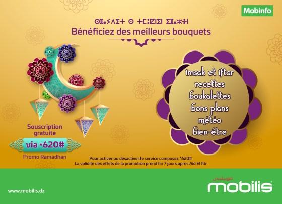 Promotion Ramadhan : profitez d'une souscription gratuite sur les services Mobilis