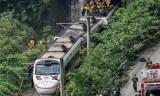 Au moins 50 morts dans le déraillement d'un train à Taïwan
