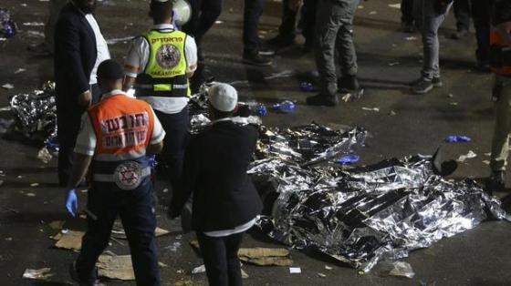 Bousculade géante en Israël: Au moins 45 morts (vidéo)