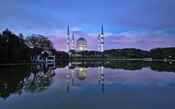 La Mosquée bleue en Malaisie, une perle architecturale