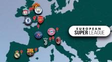 Super ligue d'Europe: défection de neuf clubs