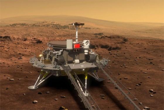 Le rover chinois sur Mars enthousiasme le monde