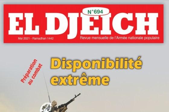 """La revue El Djeich :""""Des parties veulent enflammer la rue"""""""